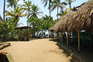 Costeño Beach surf camp in Colombia