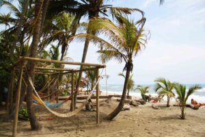 costeno beach surf destinations hammocks colombia