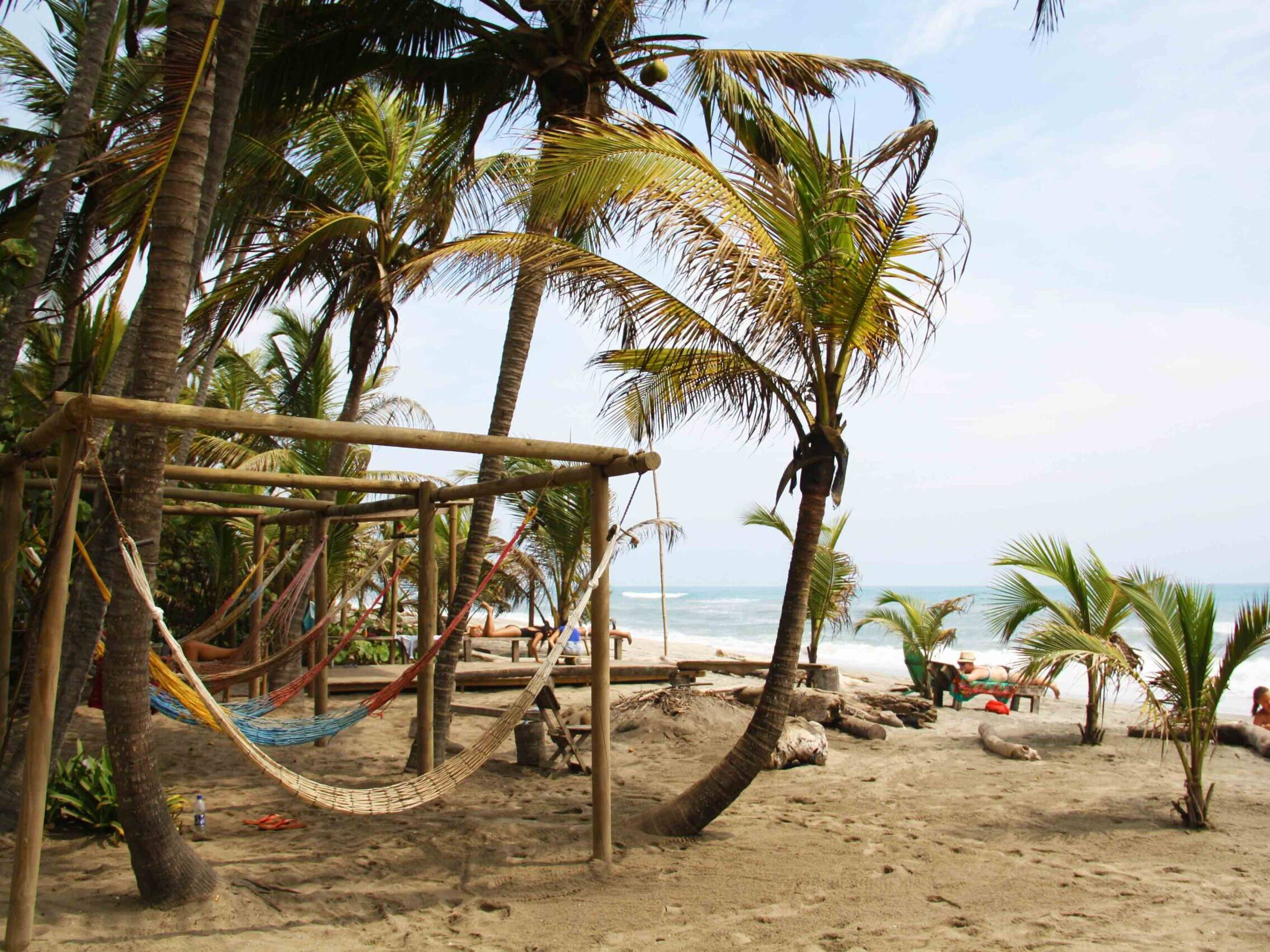 costeno beach surf destinations hammocks colombia