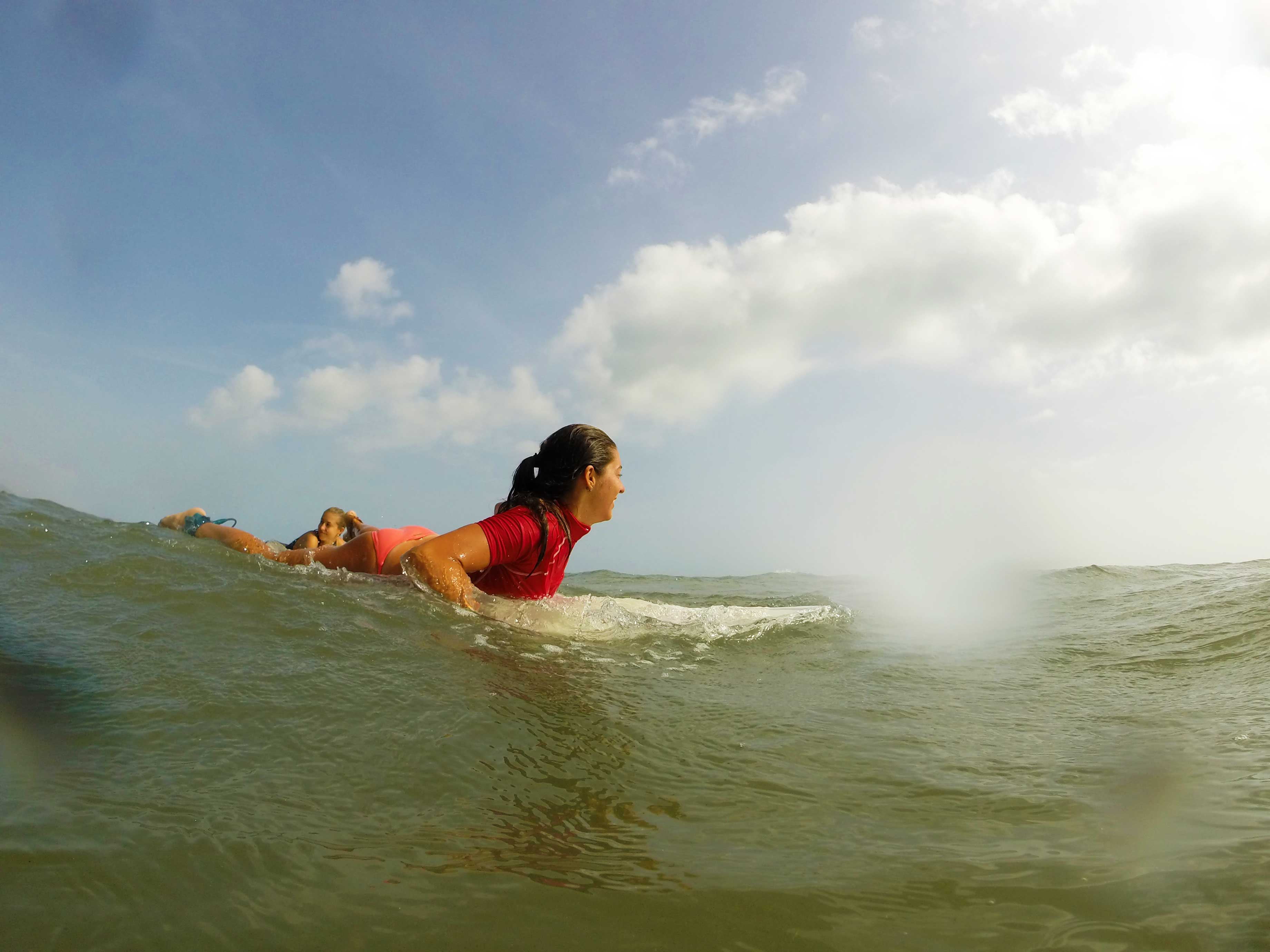 surfing costeno beach