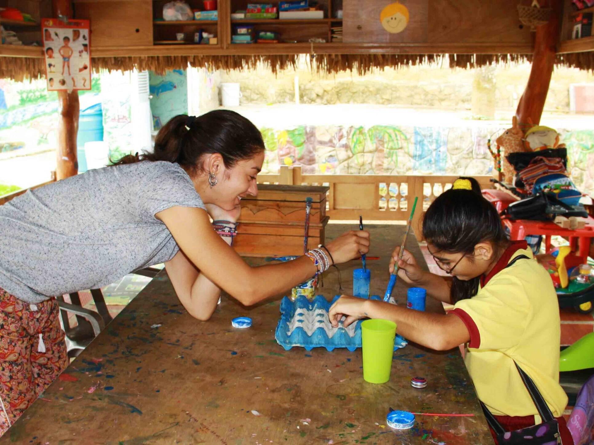 Creativity at school at Mi casa en Ipauratu