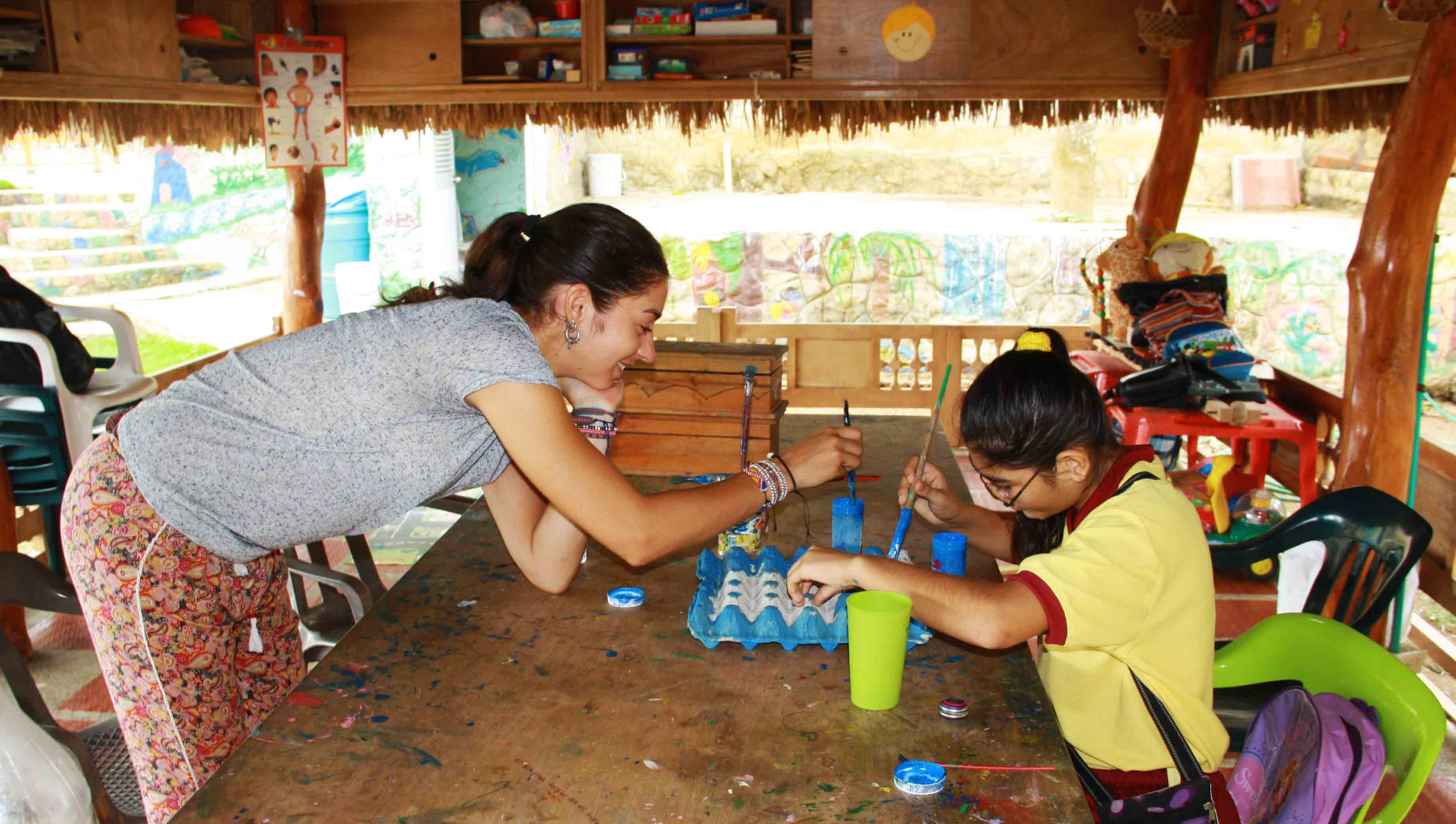 Creativity at school at Mi casa en Ipauratu