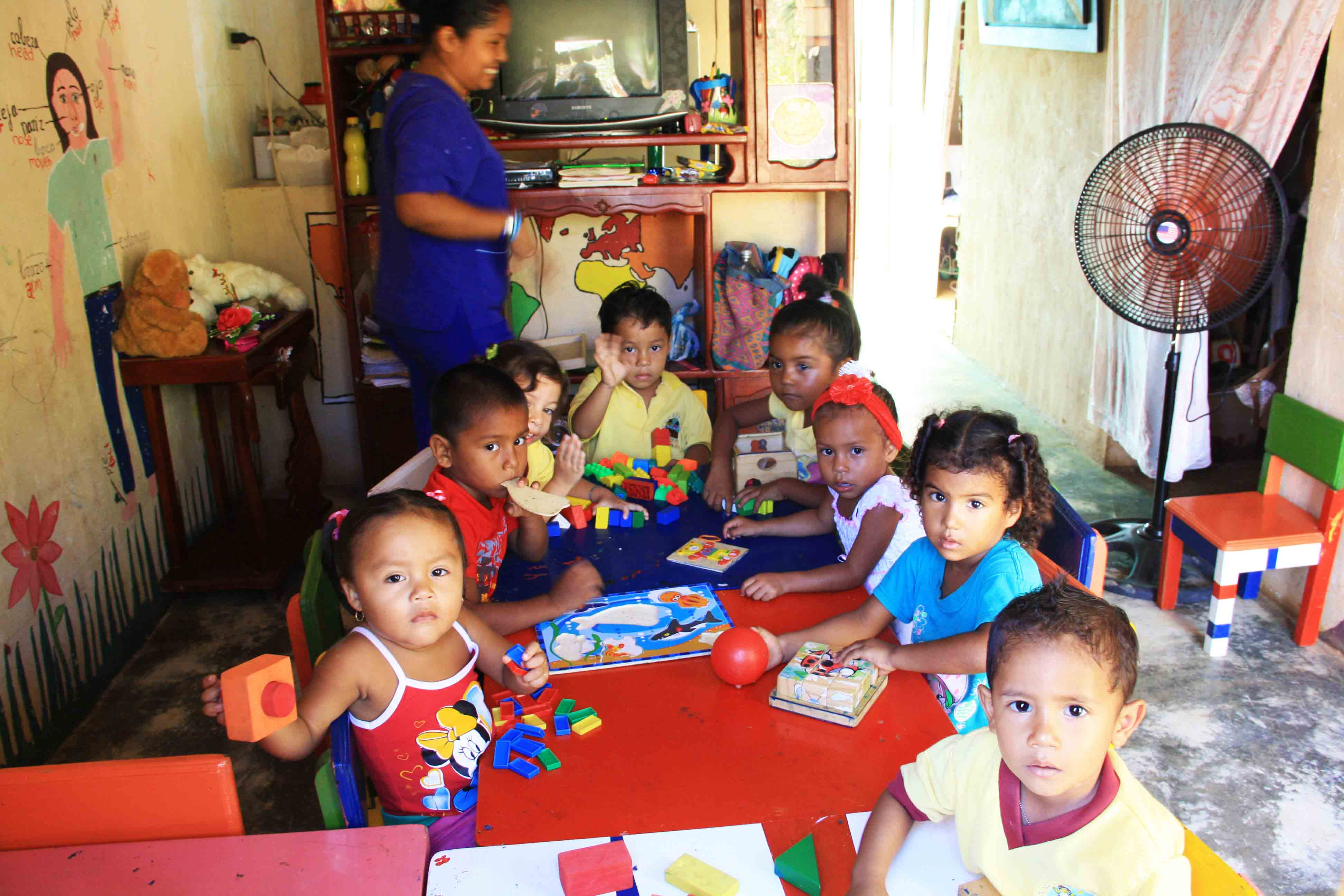 Elementary school Mi Casa en Ipauratu Foundation Ciolombia