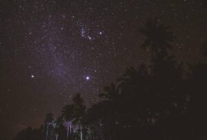 Stars at Costeño Beach in Colombia