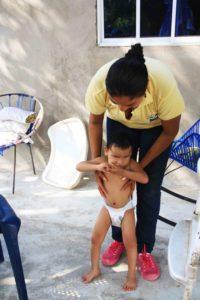 Sumate visits in Galapa volunteering Mi Casa en Ipauratu