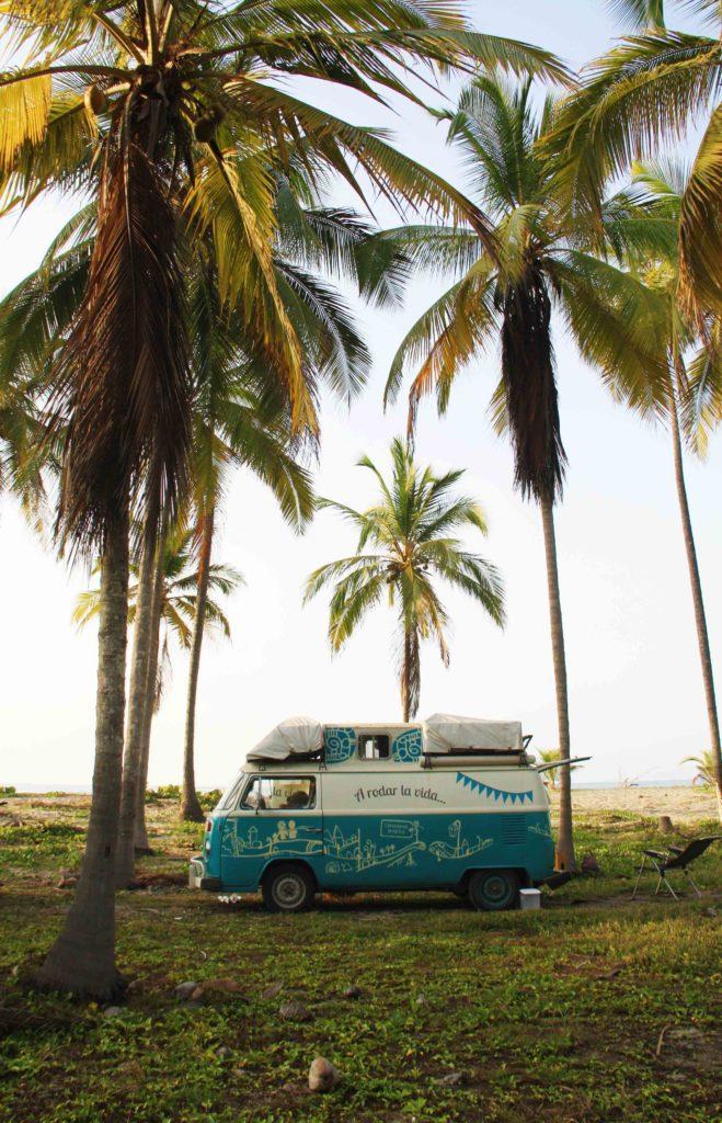 volkswagen mini van at costeno beach