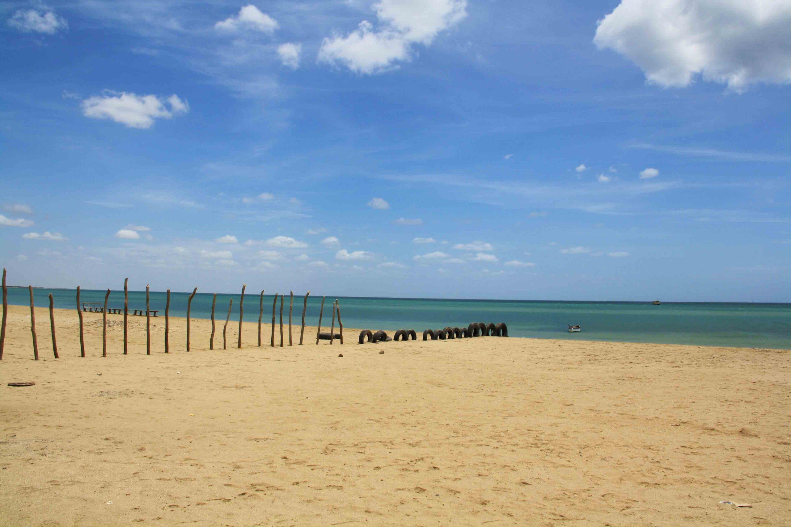 Beach of Cabo de La Vela Colombia