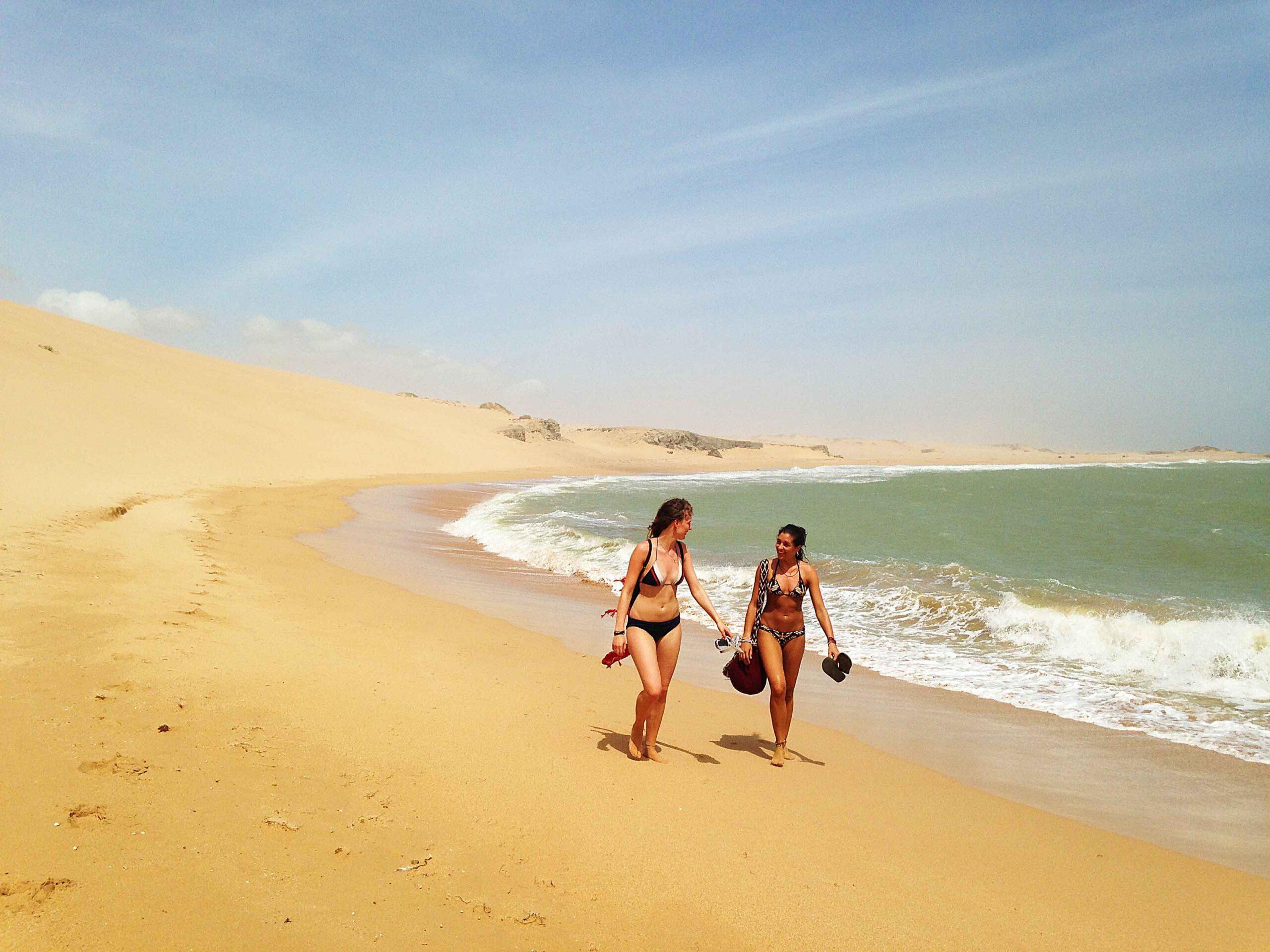 beach walks desert punta Gallinas