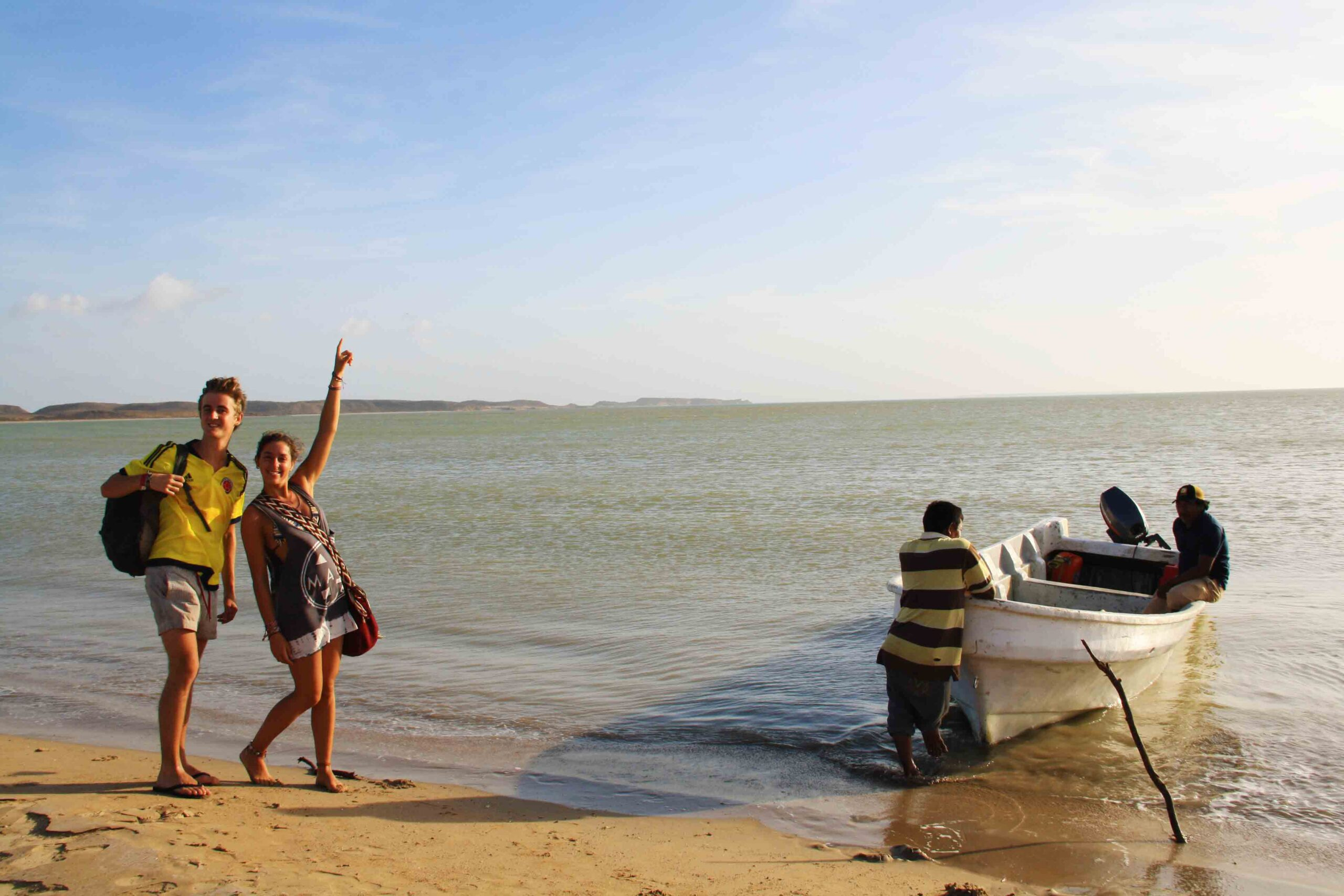 boat to Punta Gallinas Colombia