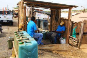 local gas station of La Guajira
