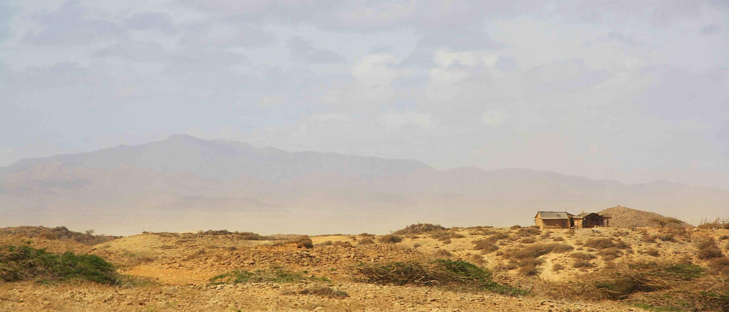 desert of la Guajira Colombia