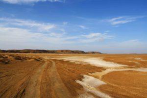Desert roads in La Guajira