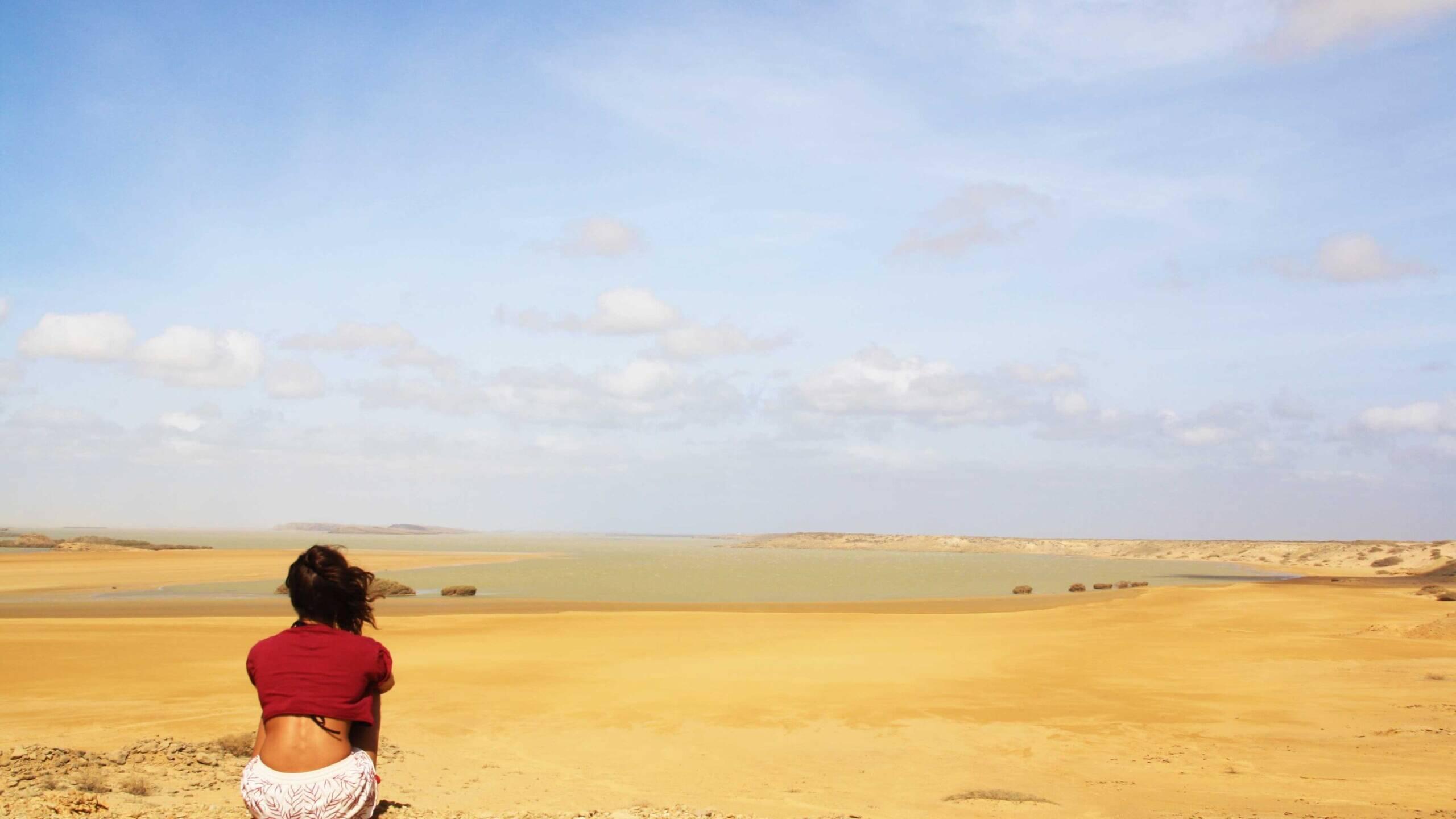 la guajira desert view in Colombia