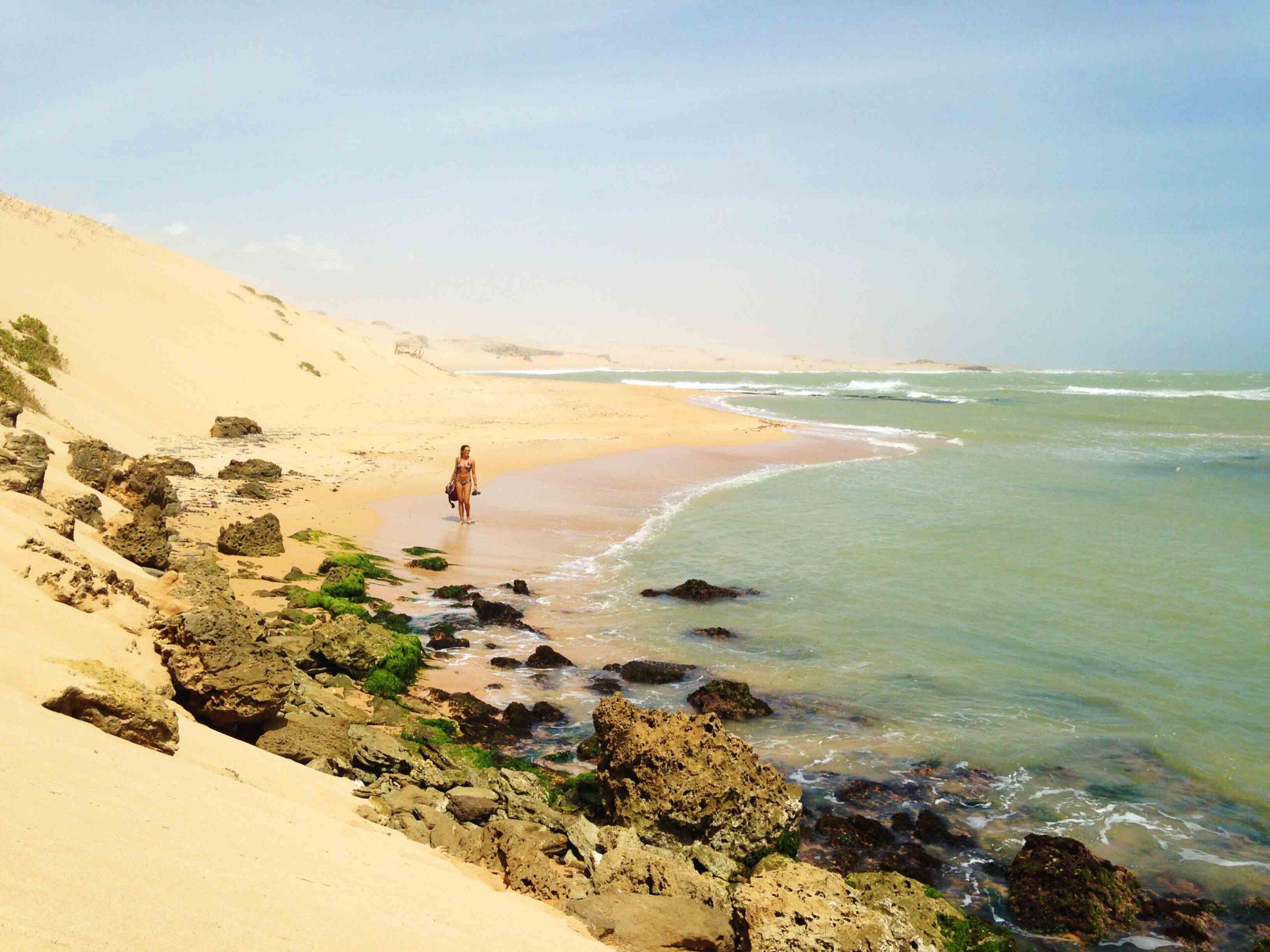 Punta Gallinas desert beach