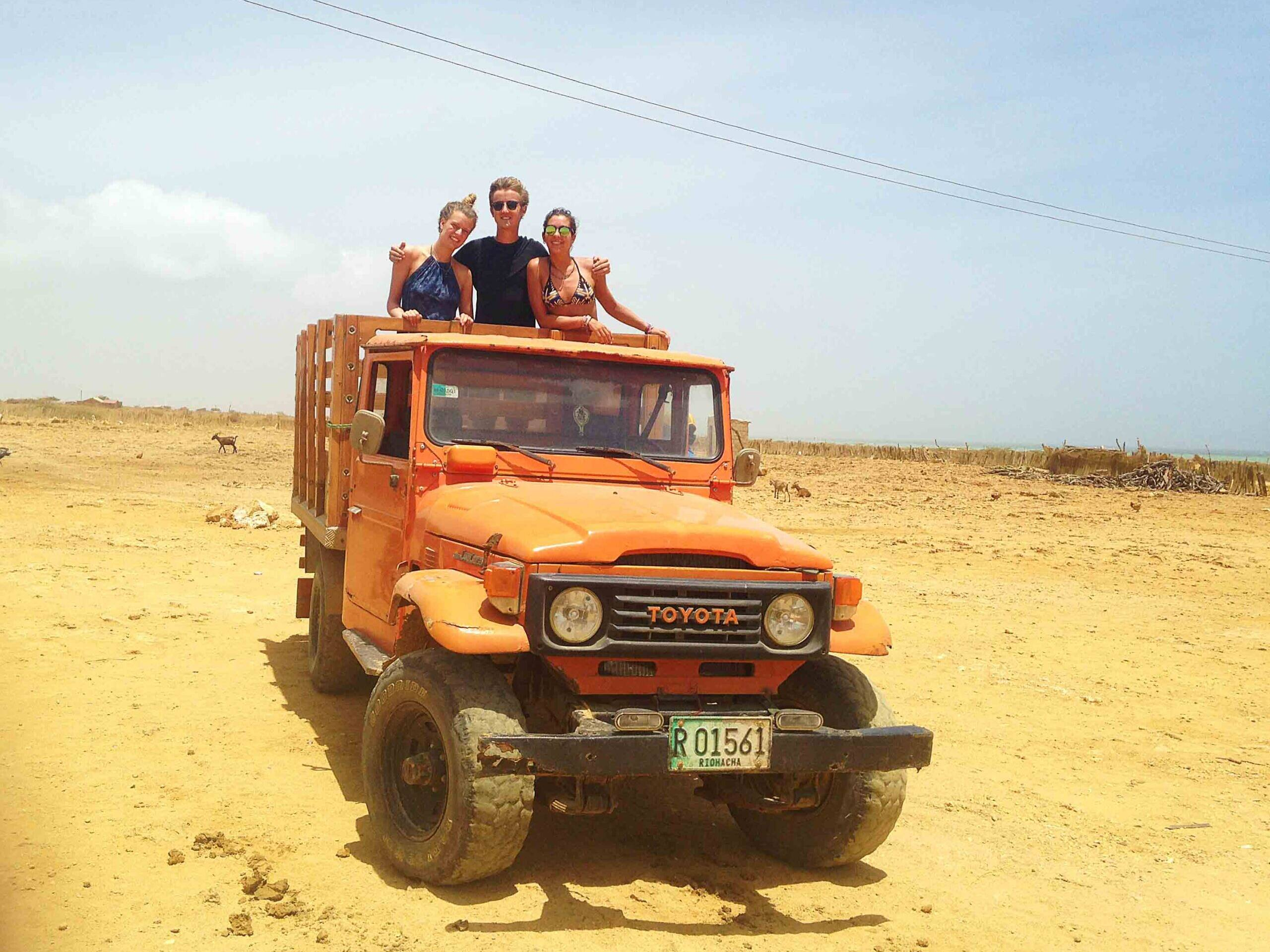 Truck to Punta Gallinas in Colombia