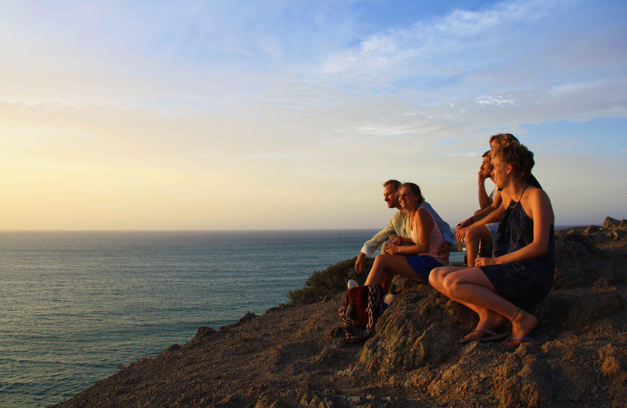 Sunset views at Cabo de la Vela