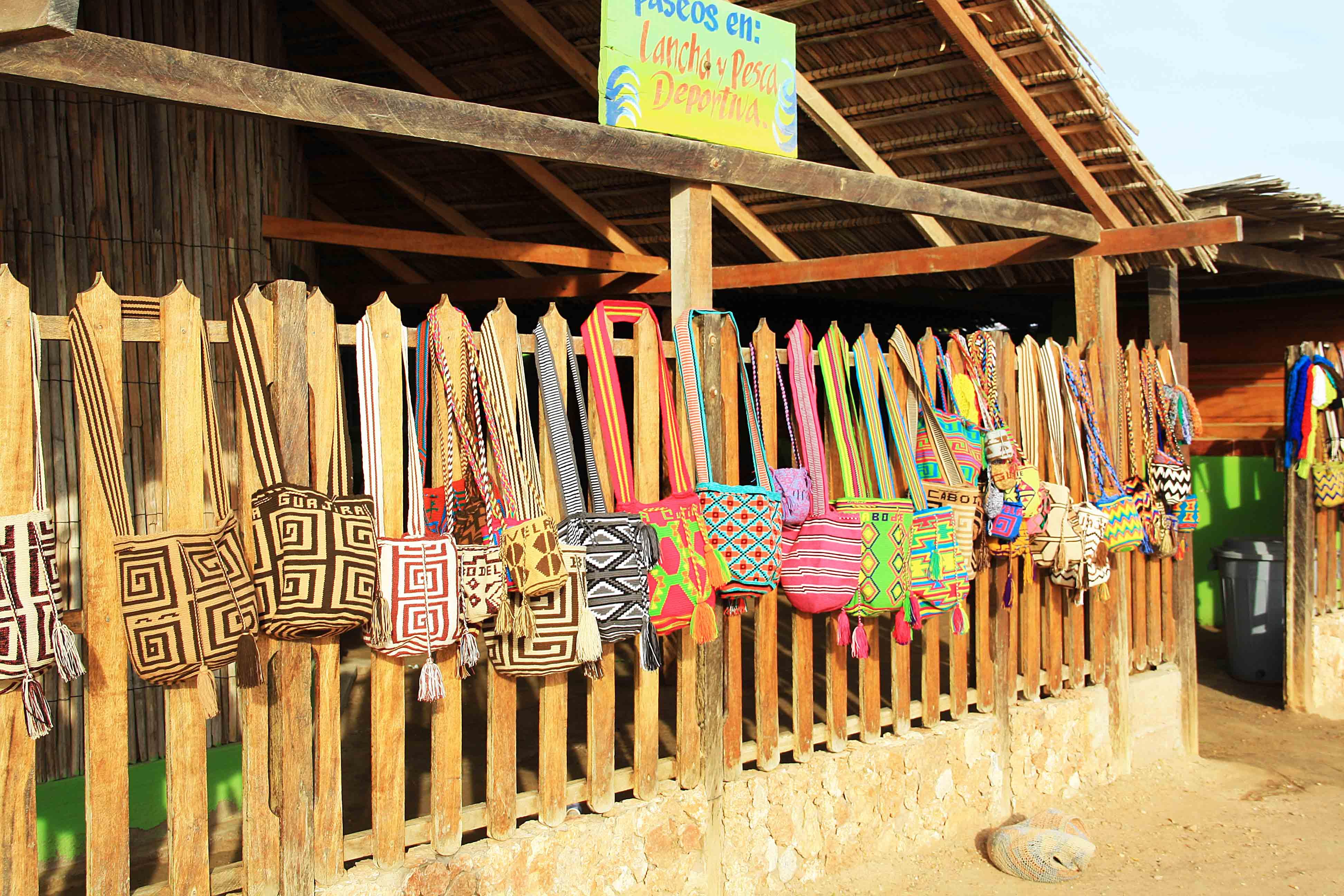 Wayuu bags la Guajira