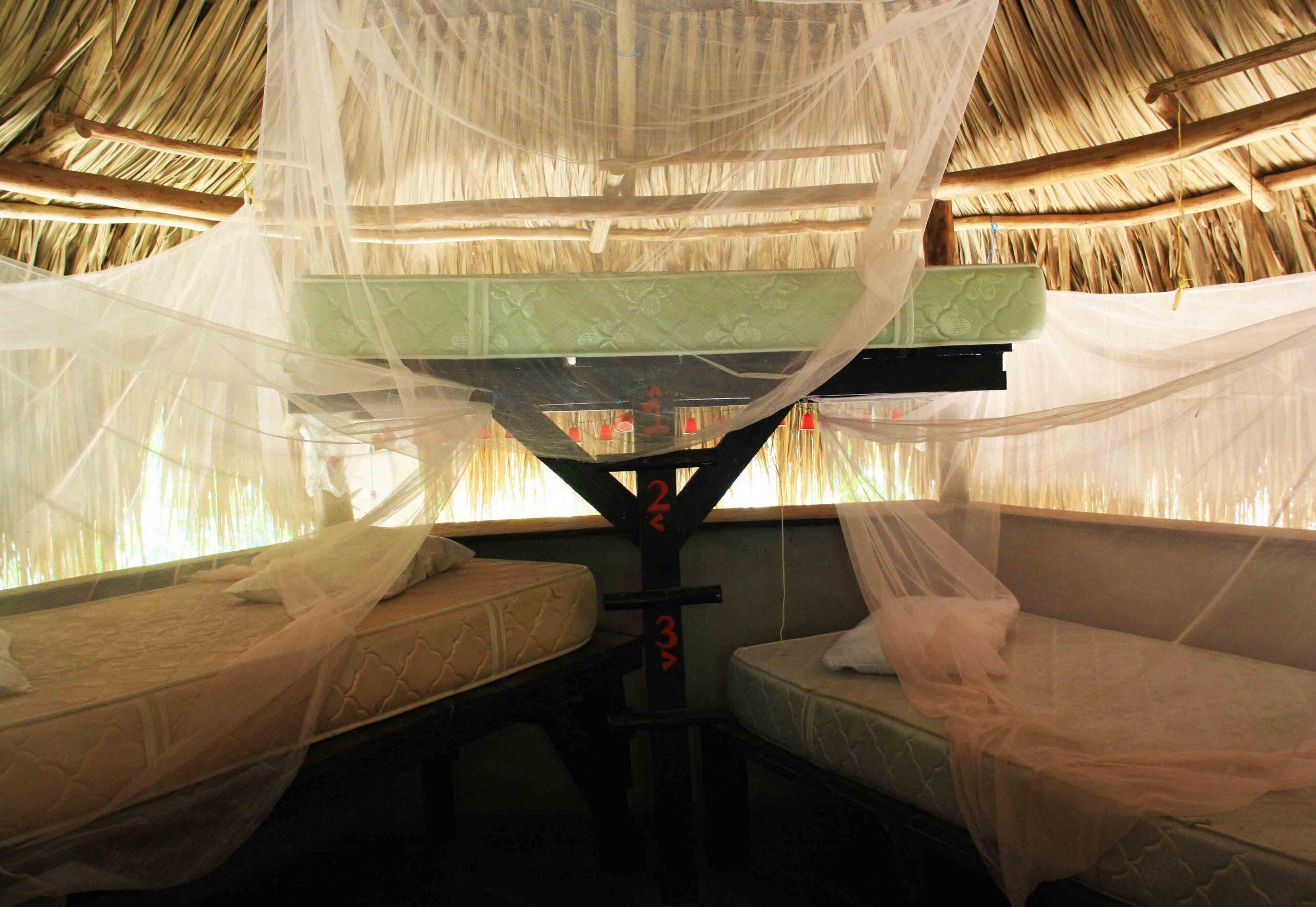 sleeping hut at rancho relaxo