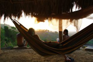 hammock sunset watching rancho relaxo colombia