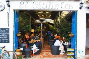 Cafe at the sunday usaquen market bogota