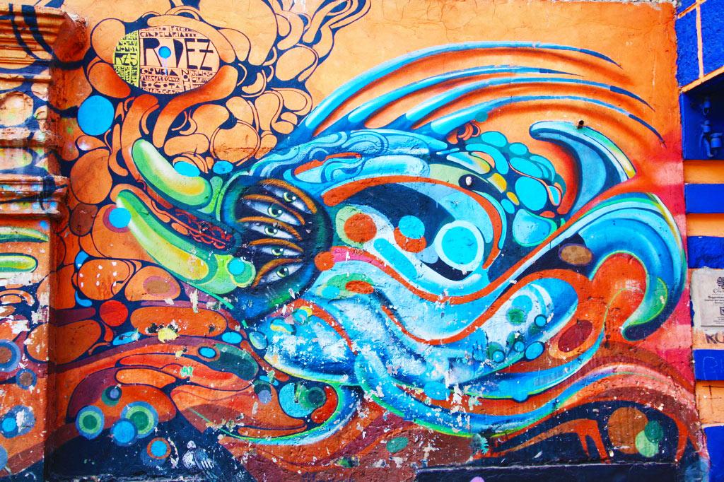 street art in la candelaria bogotá