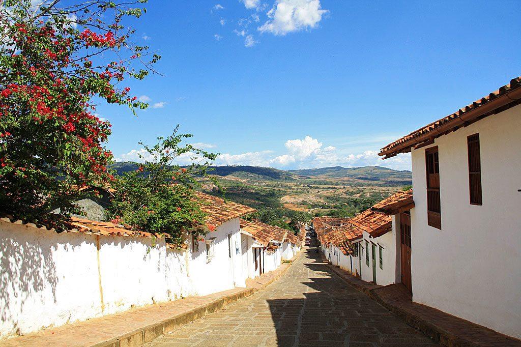 colonial town Barichara