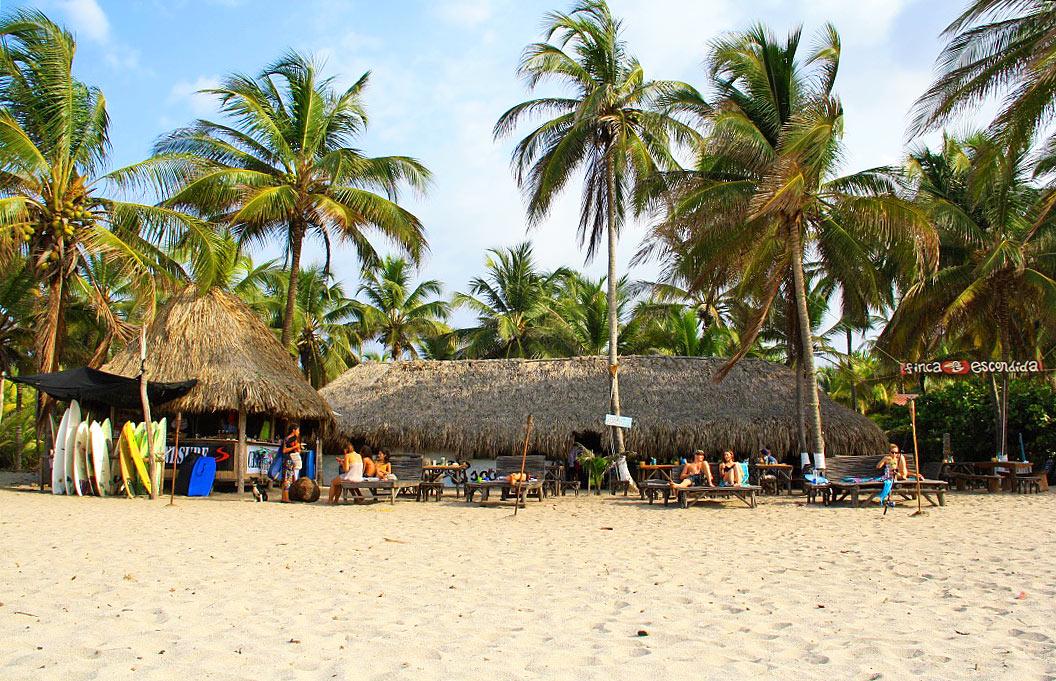 Finca Escondida Palomino beach