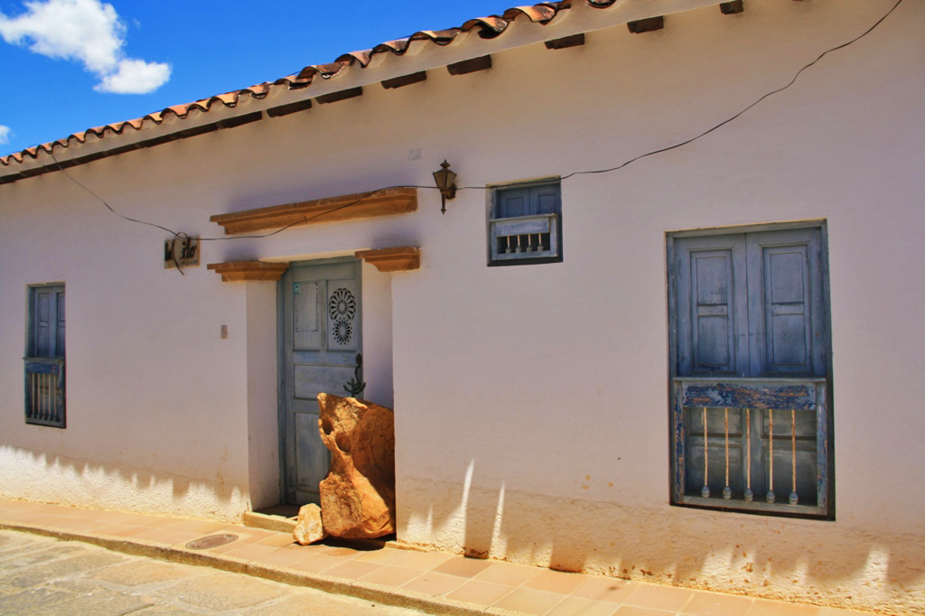 colonial house in barichara
