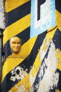 mask street art tour bogota