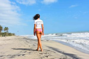 Mokum Surf Club tshirt at Palomino beach