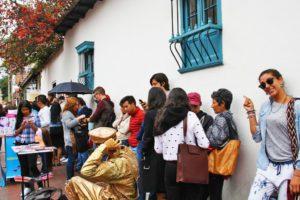 queue restaurant usaquen bogota