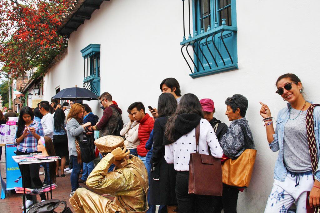 queue restaurant WOK usaquen bogotá