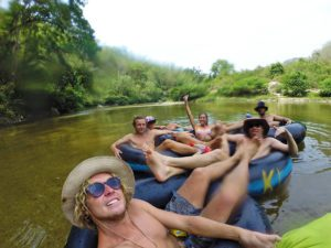 river tubing on the palomino river