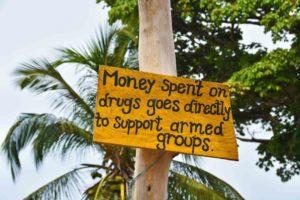 sign palomino war on drugs