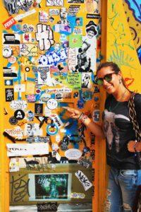 street art stickers mokum surf club bogota