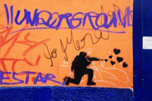 street art print bogota colombia