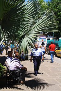 Daily street life of San Gil Colombia