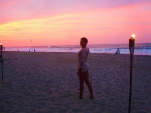 sunset sky palomino beach