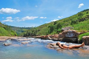 Curiti swimming holes near San Gil