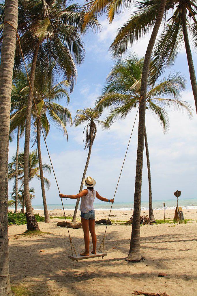 swing at La Sirena Palomino