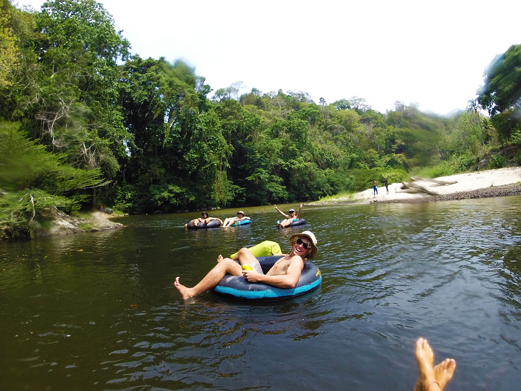 tubing on the palomino river