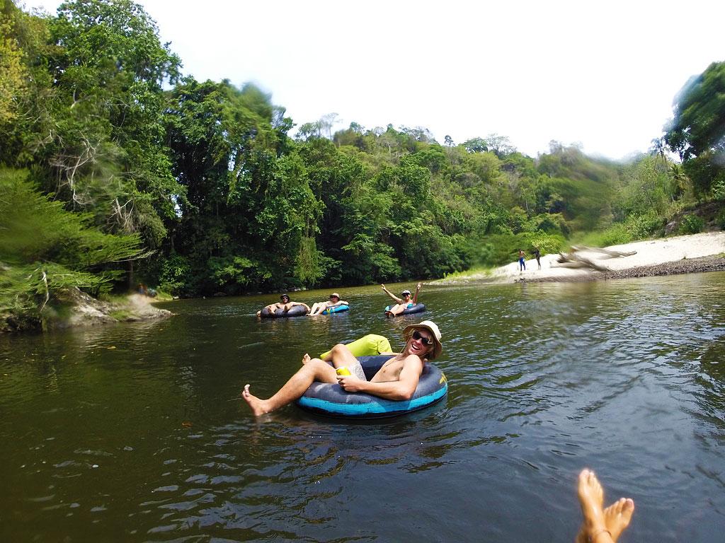 tubing on the palomino river