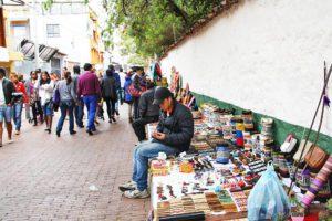 Usaquen sunday market bogota