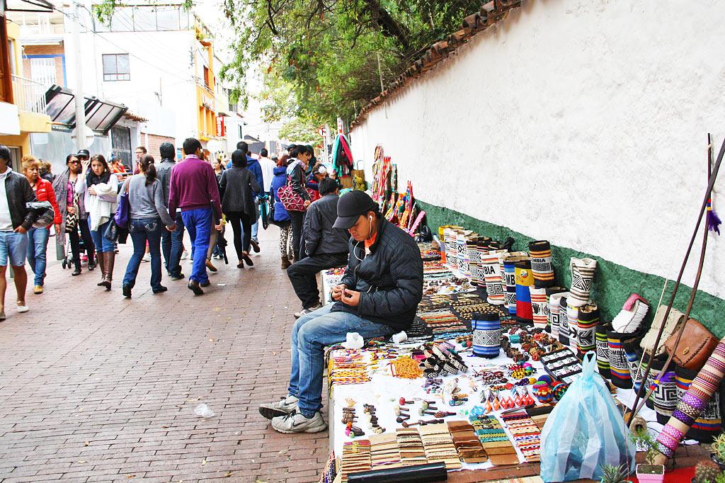 Usaquen sunday market bogotá