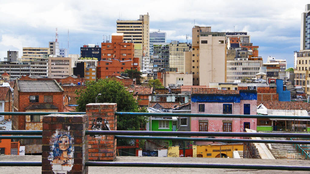 view of bogota colombia