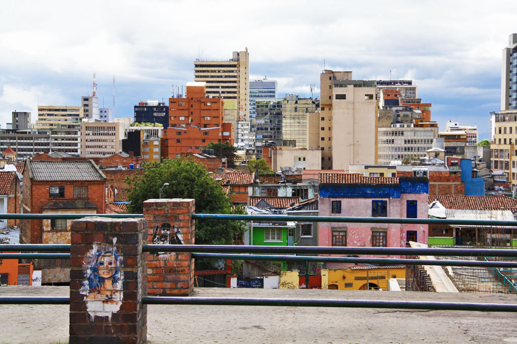 view of bogotá colombia