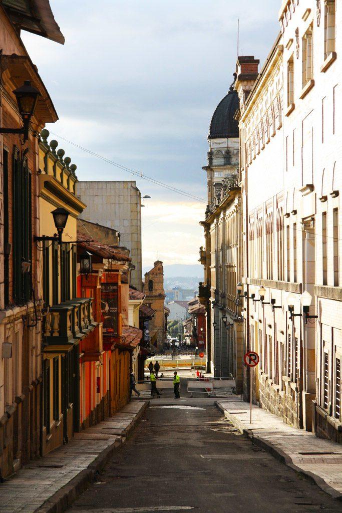 view streets of bogota