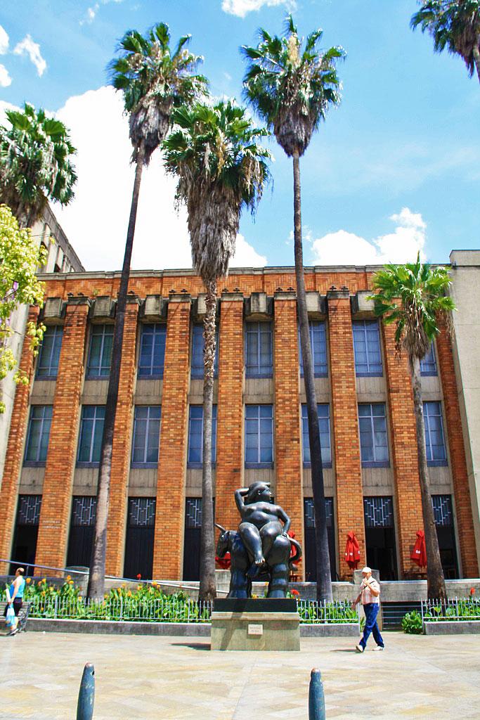 Botero museum in Medellin