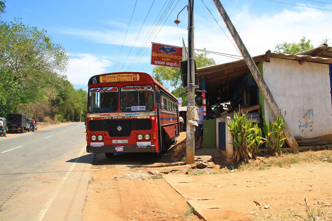 bus galla south coast sri lanka