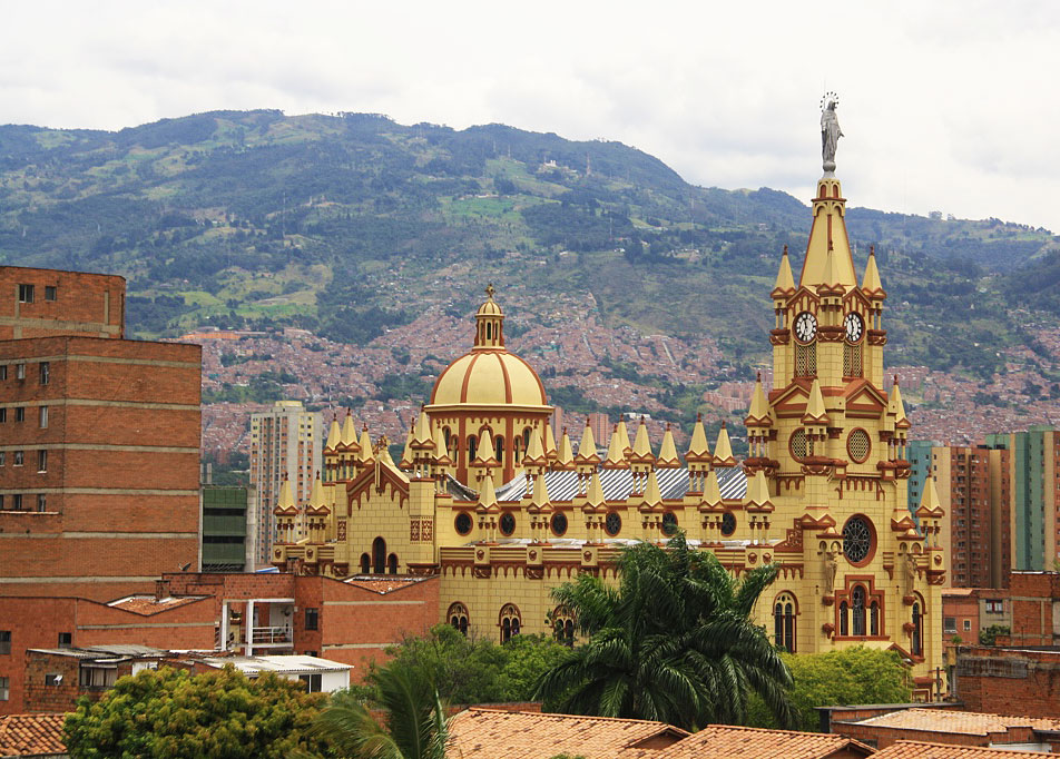 cathedral medellin city